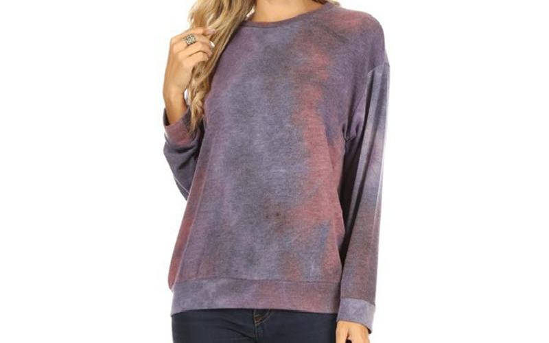 Four Seasons - Sweater Tie-Dye French Terry
